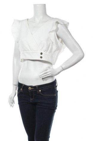 Γυναικεία μπλούζα Miss Selfridge, Μέγεθος L, Χρώμα Λευκό, 85% πολυεστέρας, 15% ελαστάνη, Τιμή 6,32€