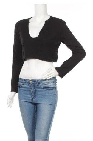 Γυναικεία μπλούζα Missguided, Μέγεθος M, Χρώμα Μαύρο, 50% πολυεστέρας, 45% βαμβάκι, 5% ελαστάνη, Τιμή 1,59€