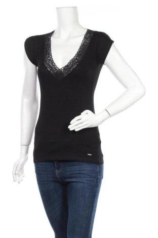 Дамска блуза Morgan De Toi, Размер M, Цвят Черен, 85% полиамид, 15% еластан, Цена 30,66лв.