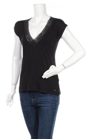 Дамска блуза Morgan De Toi, Размер XL, Цвят Черен, 85% полиамид, 15% еластан, Цена 35,77лв.