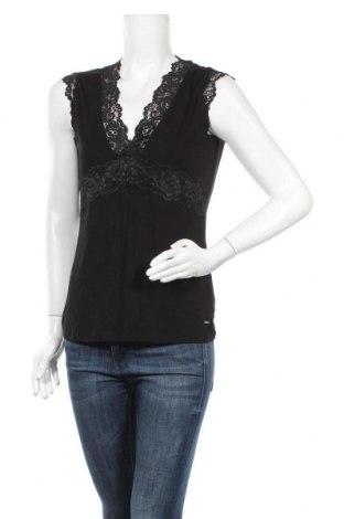Дамска блуза Morgan De Toi, Размер XL, Цвят Черен, 95% вискоза, 5% еластан, Цена 35,77лв.