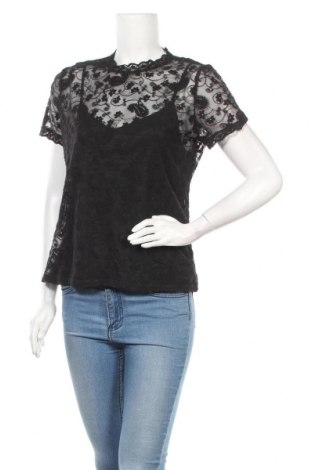 Дамска блуза Morgan De Toi, Размер XL, Цвят Черен, 95% вискоза, 5% еластан, Цена 50,37лв.