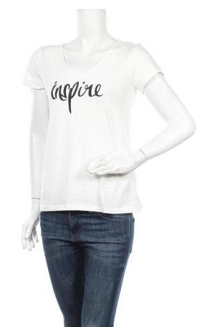 Дамска блуза MyMO, Размер L, Цвят Бял, 60% памук, 35% полиестер, 5% еластан, Цена 30,66лв.
