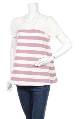 Bluză de femei Myrine, Mărime L, Culoare Alb, 95% bumbac, 5% elastan, Preț 32,07 Lei