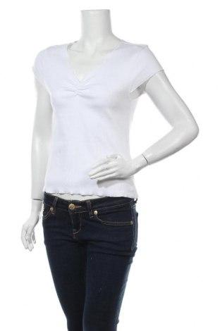 Дамска блуза Na-Kd, Размер L, Цвят Бял, 97% памук, 3% еластан, Цена 24,00лв.