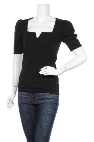 Дамска блуза Na-Kd, Размер M, Цвят Черен, 70% вискоза, 25% полиестер, 5% еластан, Цена 24,00лв.