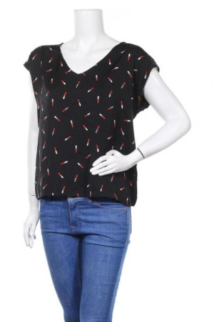 Γυναικεία μπλούζα Naf Naf, Μέγεθος XL, Χρώμα Μαύρο, Τιμή 3,18€