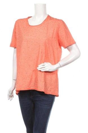 Дамска блуза Navigazione, Размер XL, Цвят Оранжев, Памук, Цена 4,20лв.