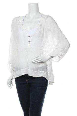Дамска блуза Nile, Размер S, Цвят Бял, Цена 16,17лв.