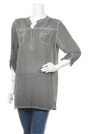 Дамска блуза Nile, Размер M, Цвят Сив, Цена 32,13лв.