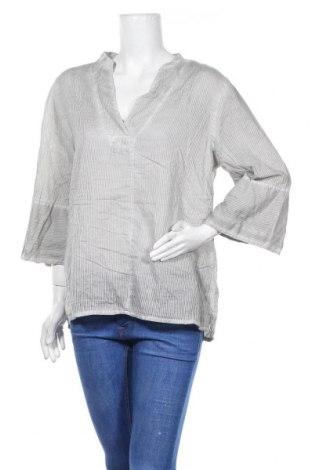 Дамска блуза Nile, Размер XL, Цвят Сив, Памук, Цена 12,18лв.