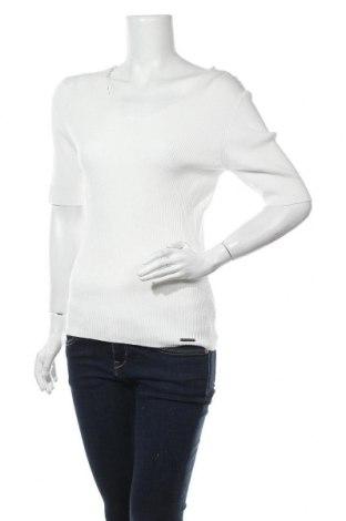 Γυναικεία μπλούζα Numph, Μέγεθος XL, Χρώμα Λευκό, 80% βισκόζη, 20% πολυαμίδη, Τιμή 17,53€