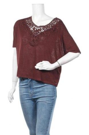 Γυναικεία μπλούζα ONLY, Μέγεθος XS, Χρώμα Καφέ, 55% βισκόζη, 45% πολυεστέρας, Τιμή 5,03€