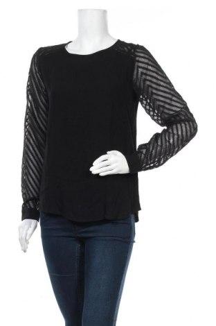 Дамска блуза Object, Размер S, Цвят Черен, Вискоза, Цена 29,50лв.