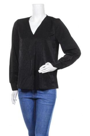 Дамска блуза Object, Размер L, Цвят Черен, 60% вискоза, 40% полиестер, Цена 29,50лв.