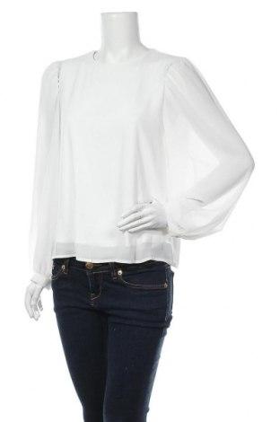 Дамска блуза Object, Размер L, Цвят Бял, Полиестер, Цена 42,00лв.