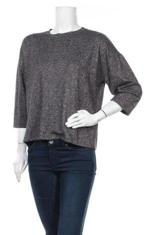 Γυναικεία μπλούζα One More Story, Μέγεθος M, Χρώμα Γκρί, 70% πολυεστέρας, 27% βισκόζη, 3% ελαστάνη, Τιμή 2,54€