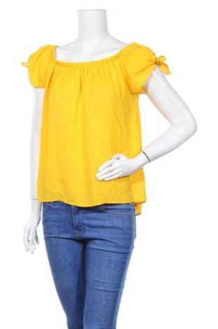 Дамска блуза Papaya, Размер L, Цвят Жълт, Полиестер, Цена 13,97лв.