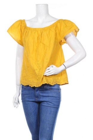 Дамска блуза Papaya, Размер L, Цвят Жълт, Памук, Цена 10,71лв.