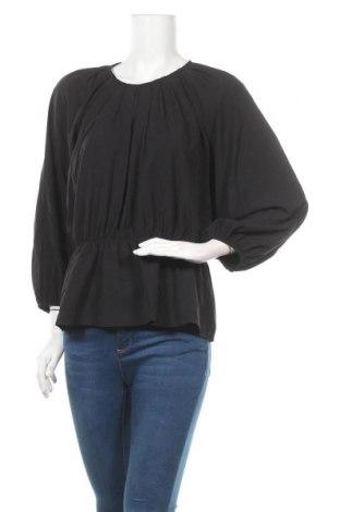 Γυναικεία μπλούζα Pieces, Μέγεθος L, Χρώμα Μαύρο, 95% πολυεστέρας, 5% ελαστάνη, Τιμή 8,84€