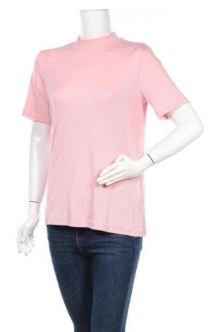 Дамска блуза Pieces, Размер L, Цвят Розов, 52% лиосел, 43% вискоза, 5% еластан, Цена 31,50лв.