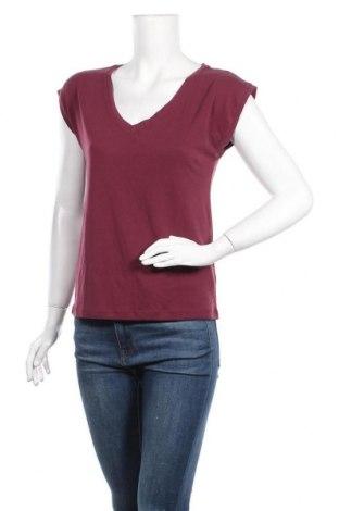 Дамска блуза Pieces, Размер XS, Цвят Лилав, 76% модал, 24% полиестер, Цена 29,25лв.