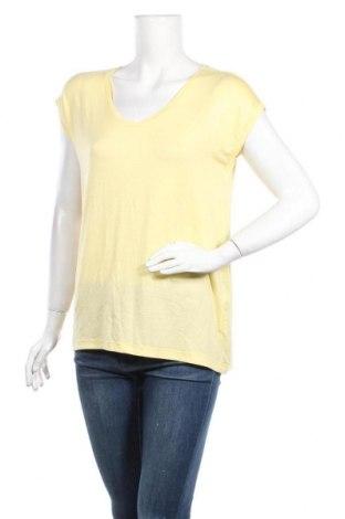Дамска блуза Pieces, Размер S, Цвят Жълт, 95% вискоза, 5% еластан, Цена 31,50лв.