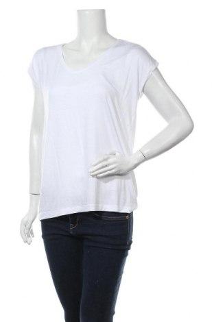 Дамска блуза Pieces, Размер M, Цвят Бял, 95% вискоза, 5% еластан, Цена 31,50лв.