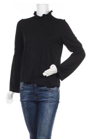 Γυναικεία μπλούζα Pieces, Μέγεθος M, Χρώμα Μαύρο, 95% βισκόζη, 5% ελαστάνη, Τιμή 12,63€