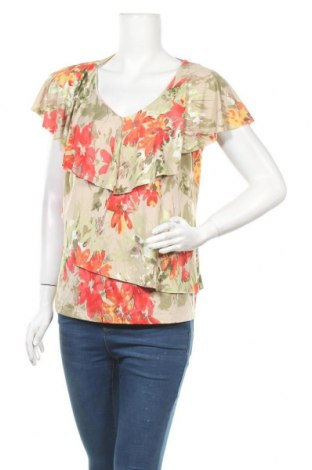 Дамска блуза Reitmans, Размер XL, Цвят Многоцветен, 90% полиестер, 10% еластан, Цена 15,12лв.