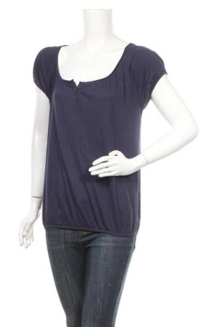 Дамска блуза S.Oliver, Размер XS, Цвят Син, Памук, Цена 10,50лв.