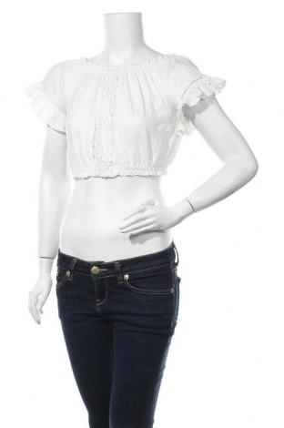 Дамска блуза Select, Размер M, Цвят Бял, Памук, Цена 5,60лв.