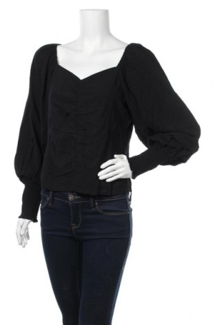 Дамска блуза Soft Rebels, Размер L, Цвят Черен, 97% вискоза, 3% еластан, Цена 40,05лв.