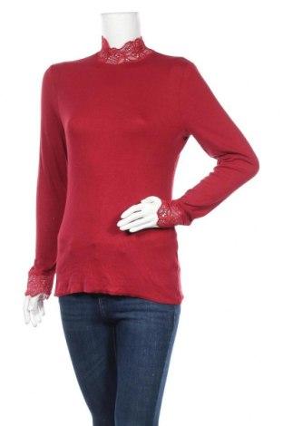 Γυναικεία μπλούζα Soya Concept, Μέγεθος M, Χρώμα Κόκκινο, 95% βισκόζη, 5% ελαστάνη, Τιμή 12,56€