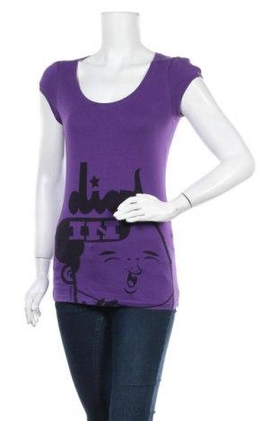 Γυναικεία μπλούζα Supremebeing, Μέγεθος S, Χρώμα Βιολετί, 95% βαμβάκι, 5% ελαστάνη, Τιμή 2,60€
