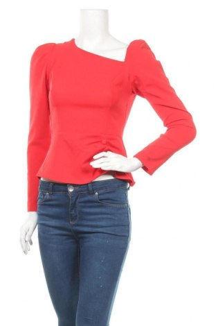 Γυναικεία μπλούζα Trendyol, Μέγεθος S, Χρώμα Κόκκινο, 86% πολυεστέρας, 14% ελαστάνη, Τιμή 11,47€