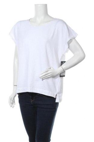Дамска блуза True Religion, Размер L, Цвят Бял, 48% памук, 48% лен, 4% еластан, Цена 64,97лв.