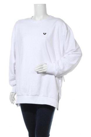 Дамска блуза True Religion, Размер S, Цвят Бял, 84% памук, 16% полиестер, Цена 38,27лв.