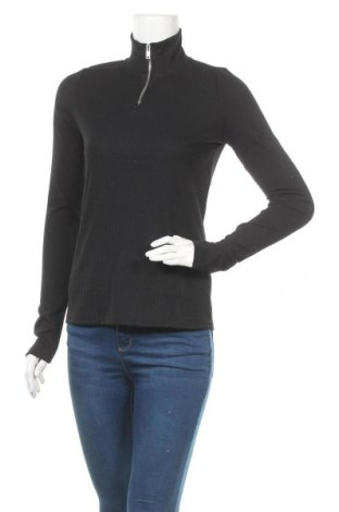 Дамска блуза Vero Moda, Размер M, Цвят Черен, 95% полиестер, 5% еластан, Цена 11,80лв.