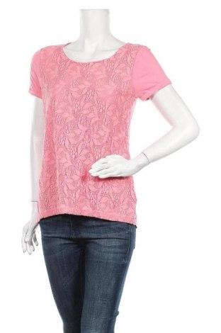Дамска блуза Warehouse, Размер L, Цвят Розов, Вискоза, полиамид, памук, Цена 16,96лв.