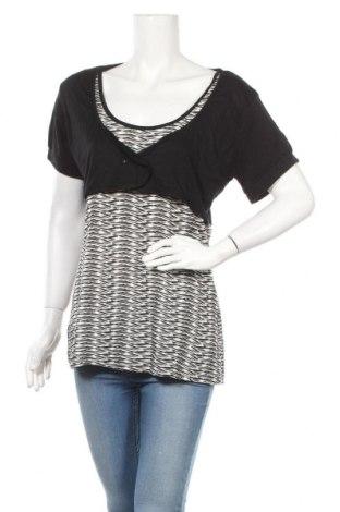 Дамска блуза X-Mail, Размер XL, Цвят Черен, 95% вискоза, 5% еластан, Цена 15,96лв.