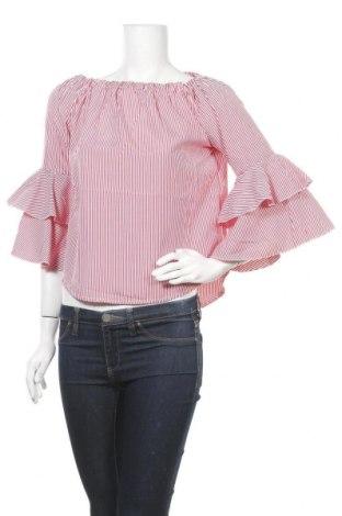 Дамска блуза Zebra, Размер XS, Цвят Червен, Полиестер, Цена 8,98лв.