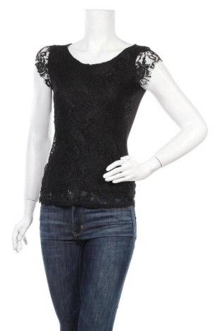 Дамска блуза Zebra, Размер XS, Цвят Черен, 95% полиестер, 5% еластан, Цена 16,80лв.