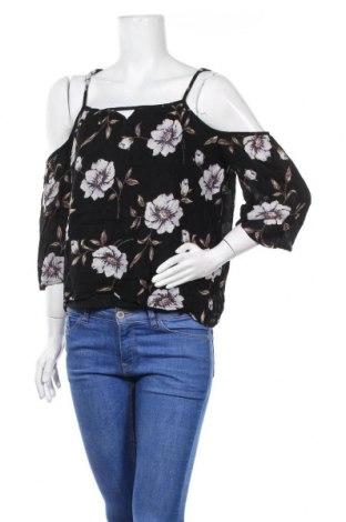 Дамска блуза Zebra, Размер S, Цвят Черен, Вискоза, Цена 9,45лв.