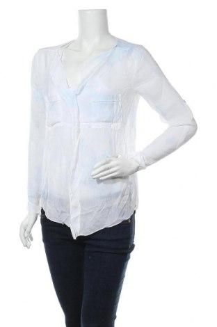 Дамска блуза Zebra, Размер M, Цвят Бял, Вискоза, Цена 9,82лв.