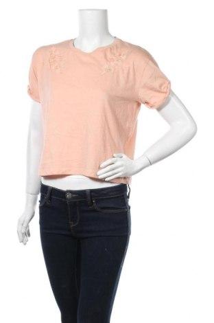 Дамска блуза Zebra, Размер S, Цвят Бежов, 60% памук, 40% полиестер, Цена 10,08лв.