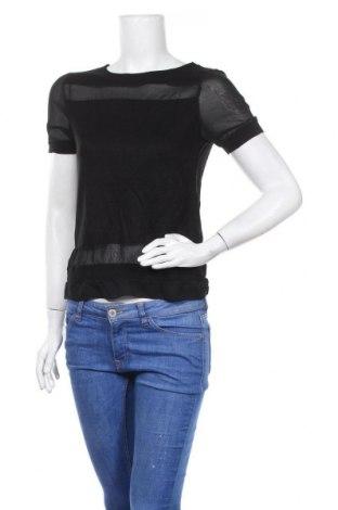Дамска блуза Zebra, Размер XS, Цвят Черен, Вискоза, Цена 10,08лв.