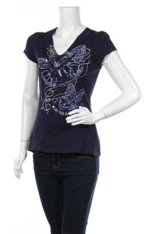 Дамска блуза Zero, Размер S, Цвят Син, Памук, Цена 13,23лв.