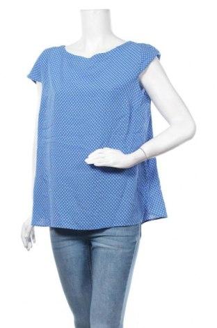 Дамска блуза Zero, Размер L, Цвят Син, Вискоза, Цена 18,95лв.