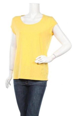 Дамска блуза Zero, Размер XL, Цвят Жълт, 95% памук, 5% еластан, Цена 16,80лв.